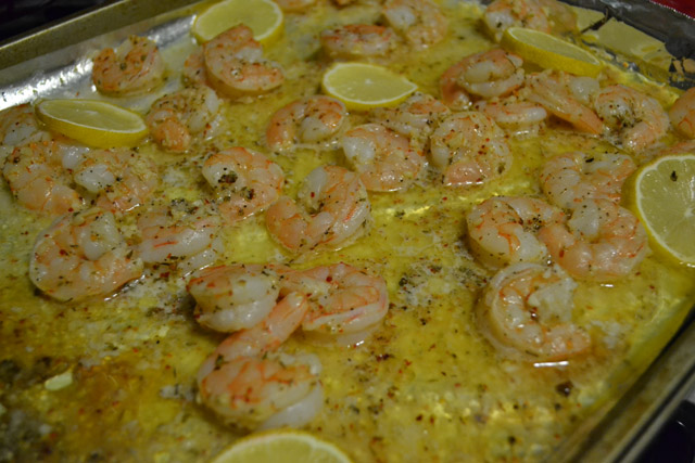 Shrimp With Garlic And Lemon Recipe — Dishmaps