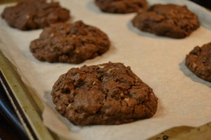 Double Chocolate Mint Chip Cookies_10