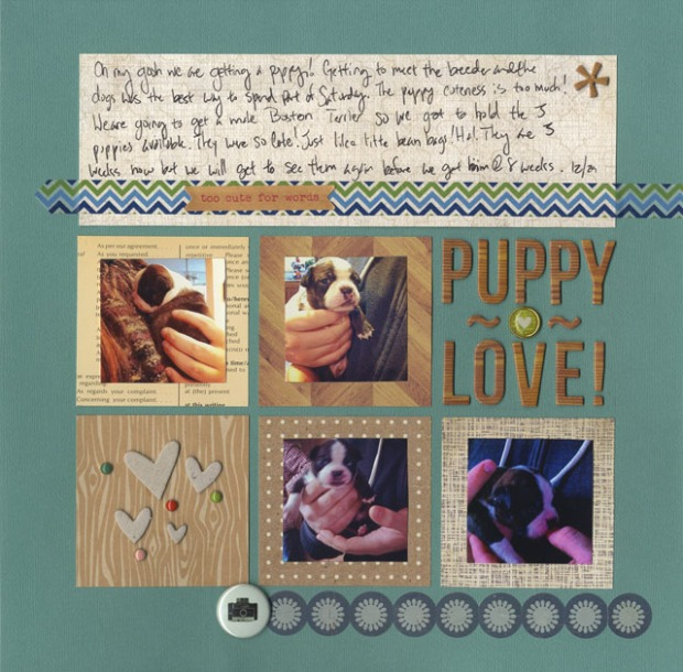 puppy love - Layout