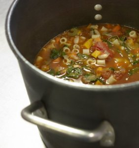 Ministrone soup