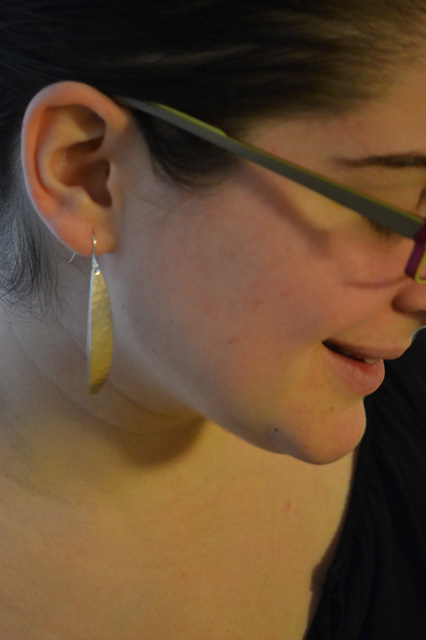 Sitich Fix- Majorie Baer- Singular Spear Earrings