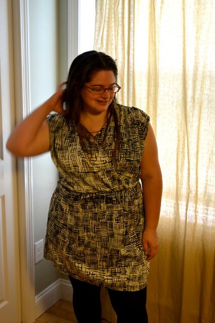 Stitch Fix- Honey Punch- Catie Printed Dress