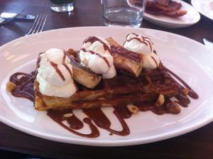 Lafayette brunch waffles
