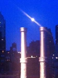 super moon from Pod 51 nyc