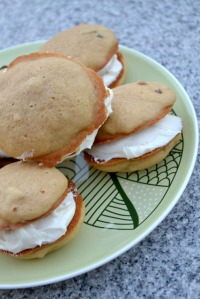 Maple Walnut Whoopie Pies
