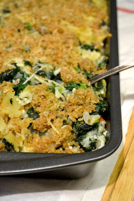 Spinach Artichoke Pasta Bake_02