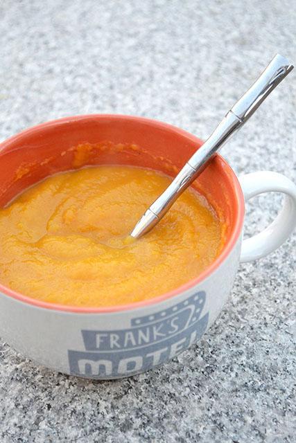 Butternut Squash-Apple Soup