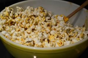 Cheesy Fiesta Popcorn-7