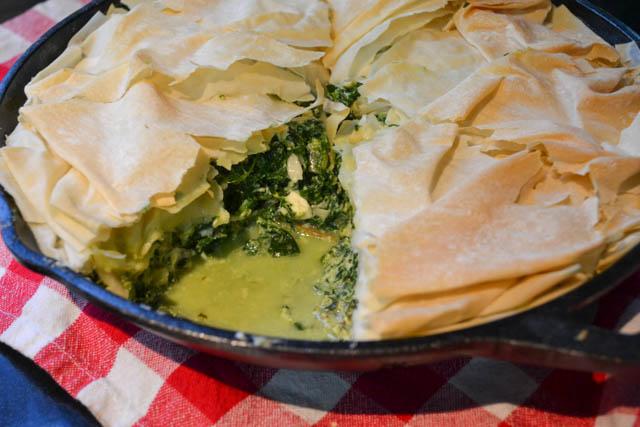 Skillet Spinach Pie-1