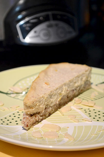 Slow Cooker Italian Style Cheesecake