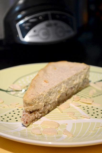 Slow Cooker Italian Style Cheesecake