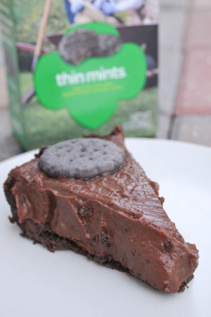 Thin Mint Cookie Pie | I am a Honey Bee