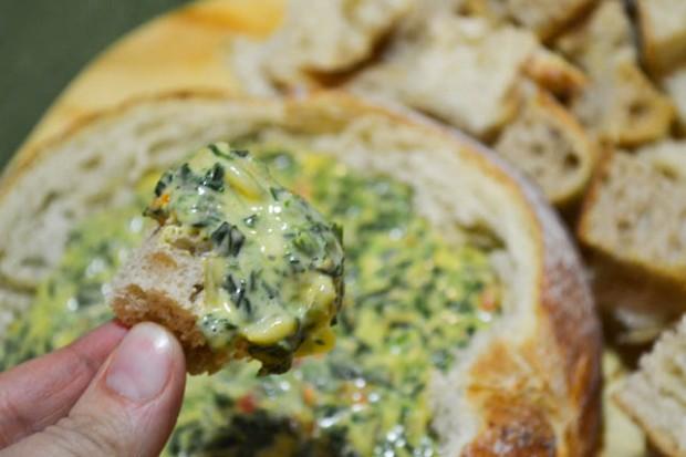 Cheesy Spinach Dip-1