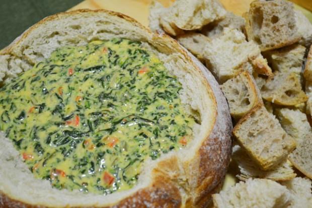 Cheesy Spinach Dip-2