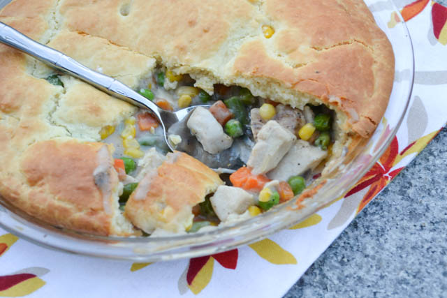Impossibly Easy Chicken Pot Pie-1