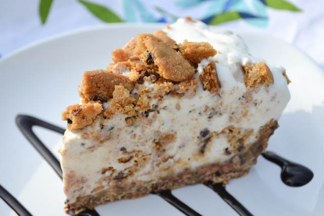 Chocolate Chip Cookie Ice Cream Pie-5