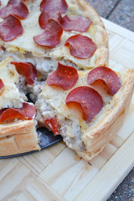 Supreme Pizza Pot Pie