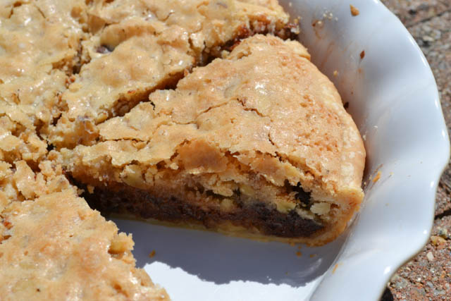 Kentucky Derby Chocolate Walnut Pie-2