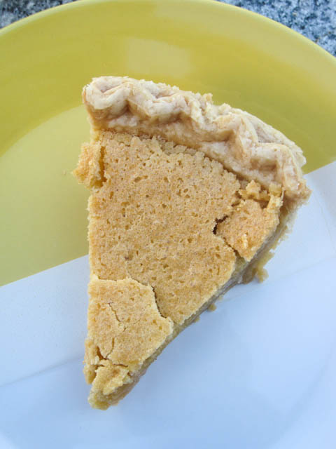 Brown Sugar Chess Pie-3