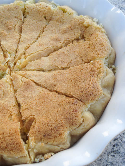 Lemon Chess Pie-2