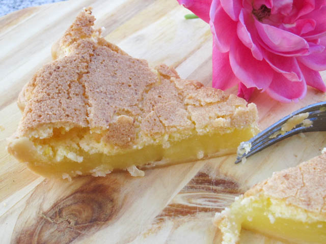 Lemon Chess Pie-3