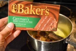 German's Chocolate Pie-6