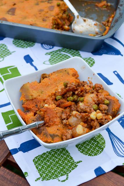 Sweet Potato Turkey Shepard's Pie-6
