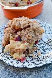 Cranberry French Toast Casserole-1