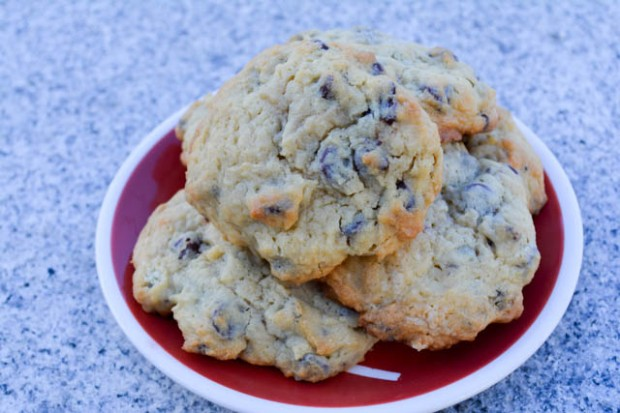 Cream Cheese Chocolate Chip Cookies-2