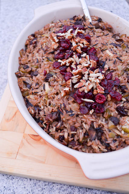 Apple and Mushroom Wild Rice Stuffing-1