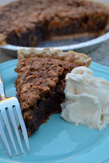 Double Chocolate Pecan Pie-1