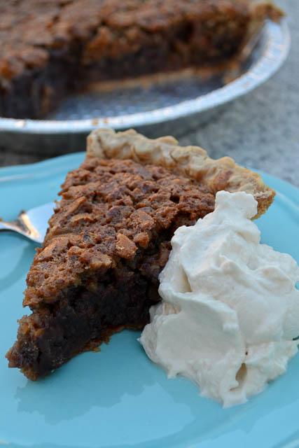 Double Chocolate Pecan Pie-2