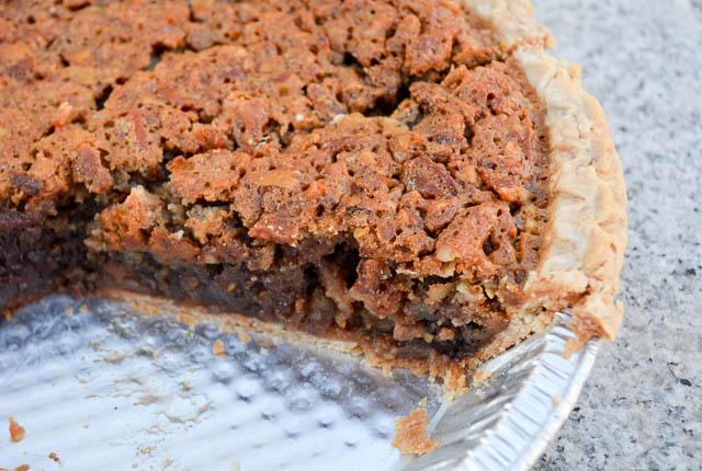 Double Chocolate Pecan Pie-4