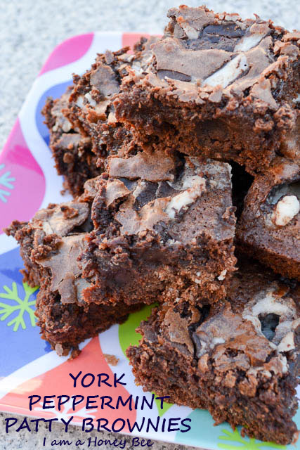 York Peppermint Patty Brownies-1