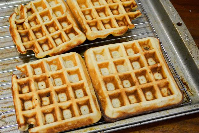 Brown Butter Banana Waffles-11