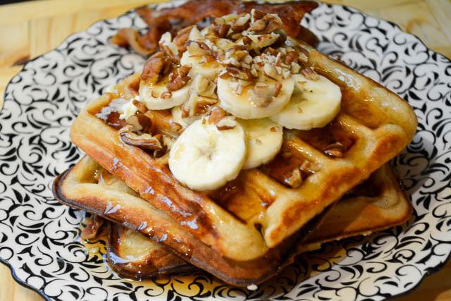 waffles banana waffles banana nut waffles brown butter banana waffles ...