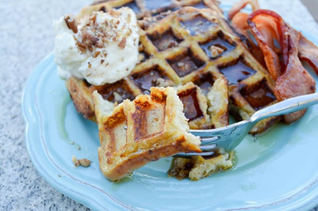 Waffled French Toast-4