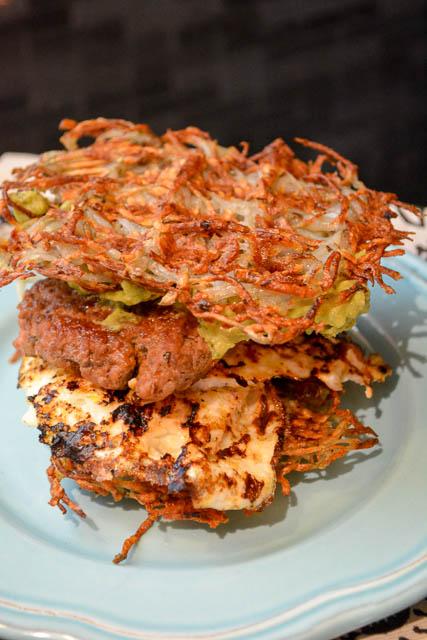 Paleo Waffled Breakfast Sandwich-2
