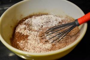 Double Chocolate Banana Muffins-10