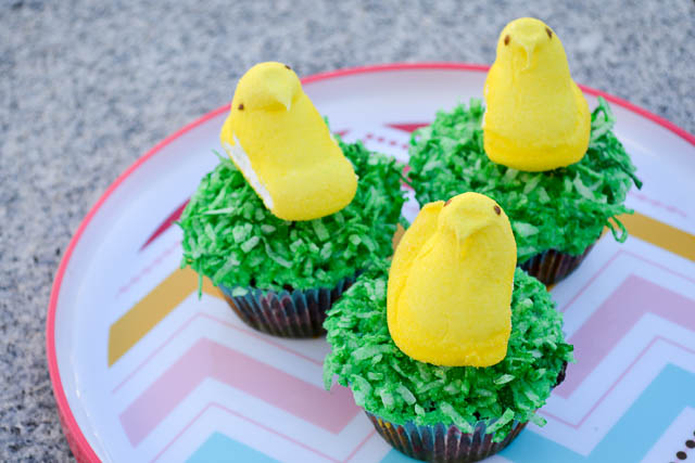 Easter Chicks Cupcakes-3