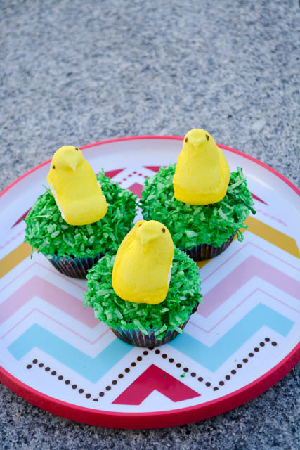 Easter Chicks Cupcakes-4