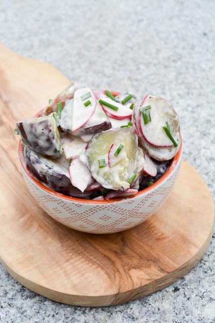 New Potato & Radish Salad w Truffle Oil Dressing-2