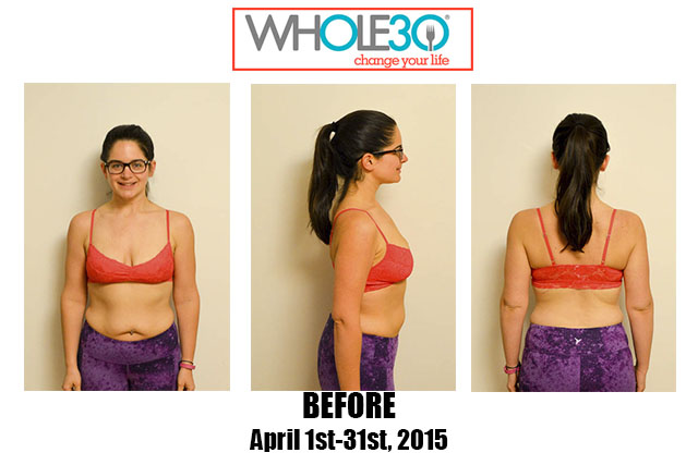 Nicole Whole30 April 2015 Before