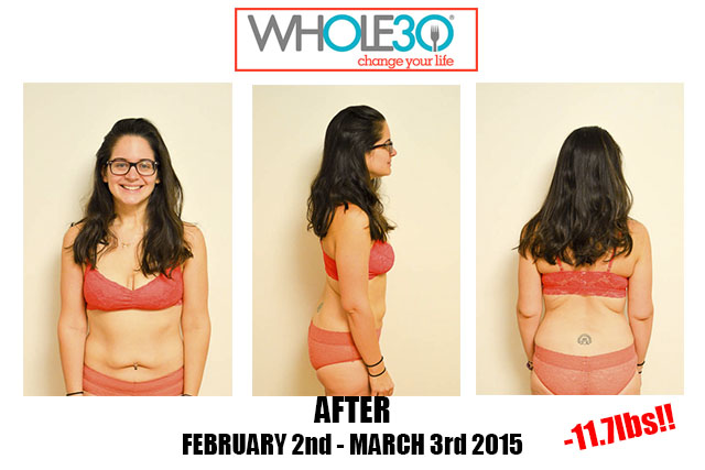 Nicole Whole30 Feb 2015 After