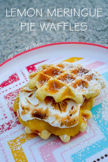 Lemon Meringue Pie Waffles