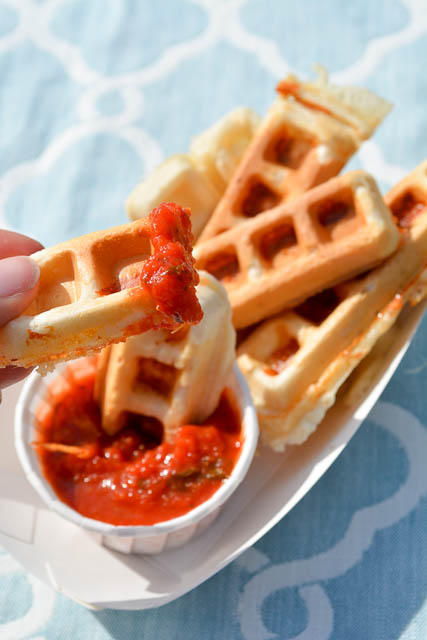 Mozzarella Waffle Sticks