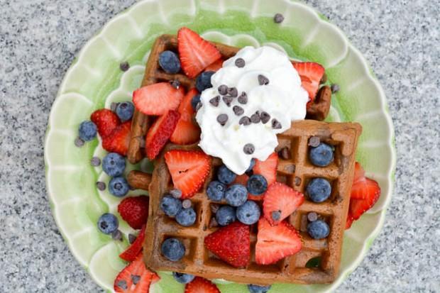 Chocolate Stout Waffles-4