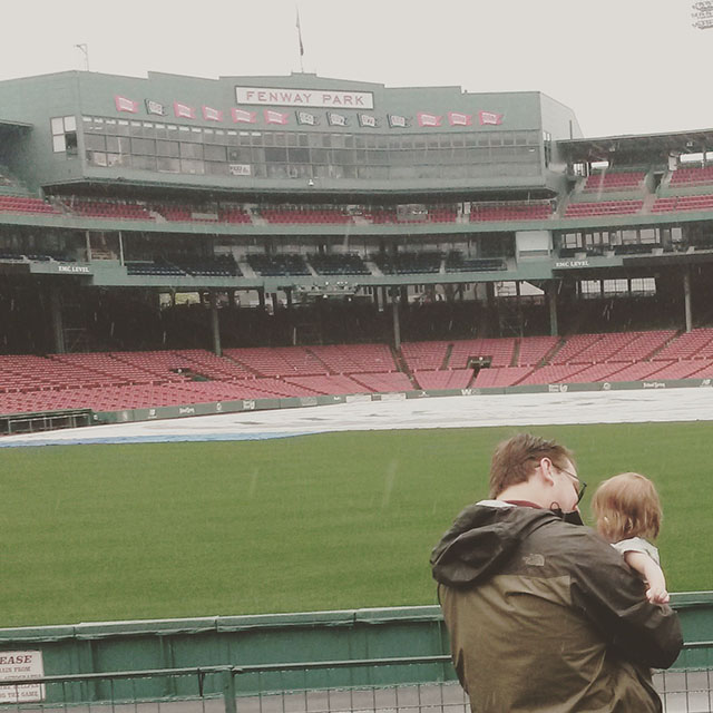 Father's Day Fenway Park 2015