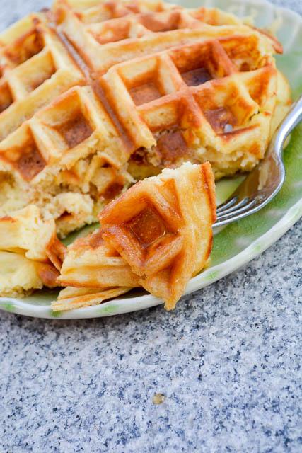 The Best Buttermilk Waffles-2