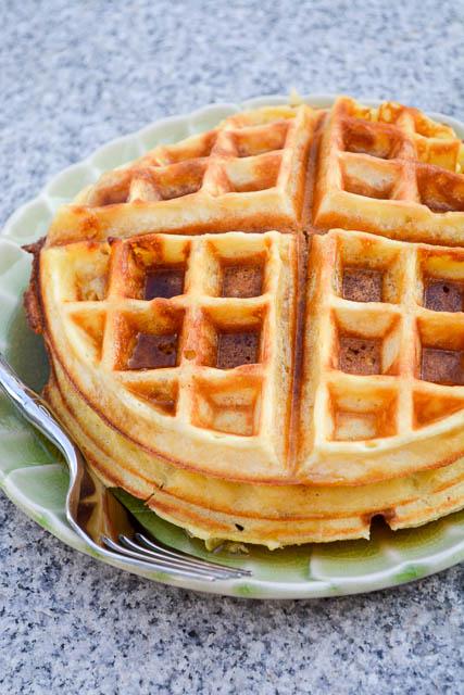 The Best Buttermilk Waffles-4